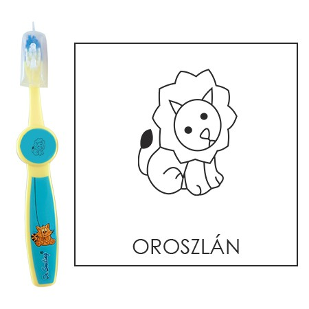 Ovis fogkefe: OROSZLÁN - kék