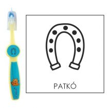 Ovis fogkefe: PATKÓ - kék