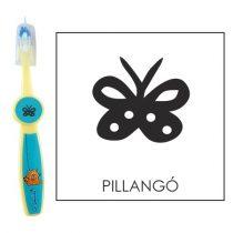 Ovis fogkefe: PILLANGÓ - kék