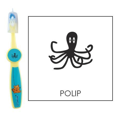 Ovis fogkefe: POLIP - kék