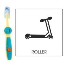Ovis fogkefe: ROLLER - kék