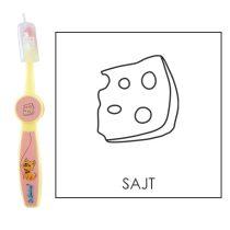 Ovis fogkefe: SAJT - rózsaszín