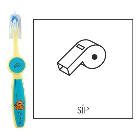 Ovis fogkefe: SÍP - kék