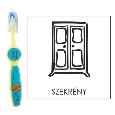 Ovis fogkefe: SZEKRÉNY - kék