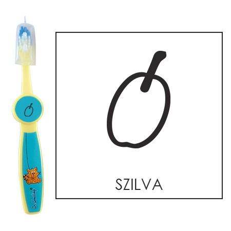 Ovis fogkefe: SZILVA - kék