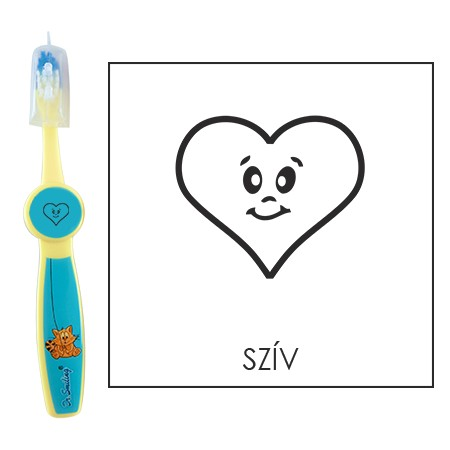 Ovis fogkefe: SZÍV - kék
