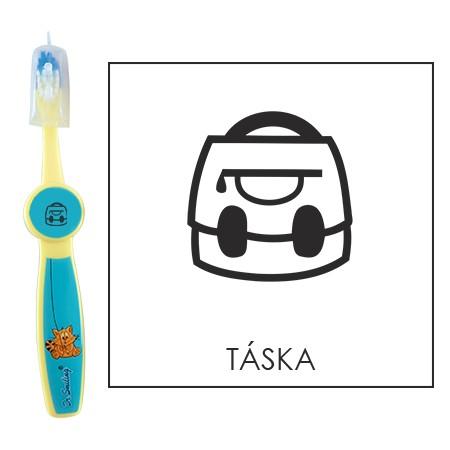 Ovis fogkefe: TÁSKA - kék