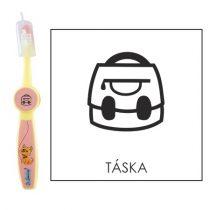 Ovis fogkefe: TÁSKA- rózsaszín