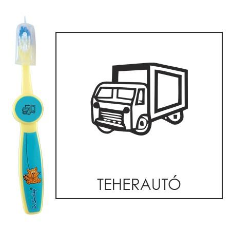 Ovis fogkefe: TEHERAUTÓ - kék