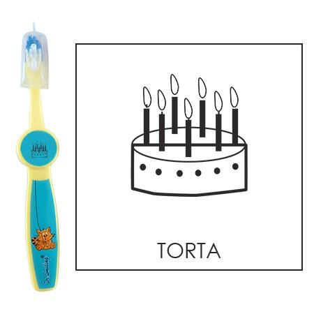 Ovis fogkefe: TORTA - kék