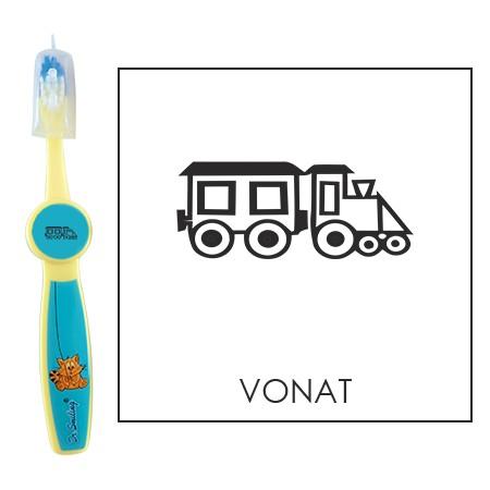 Ovis fogkefe: VONAT - kék
