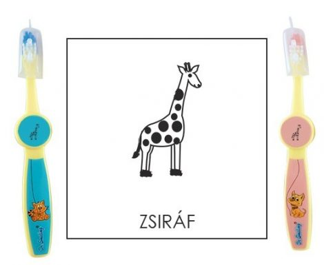Ovis fogkefe: ZSIRÁF - CSOMAG 3 db-os