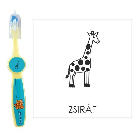 Ovis fogkefe: ZSIRÁF - kék