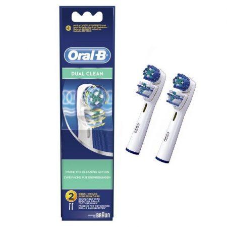 Oral-B EB 417-2 Dual Clean pótfej 2 db