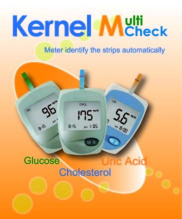 Kernel Multicheck 301 (vércukor- koleszterin- hugysavszint mérő)