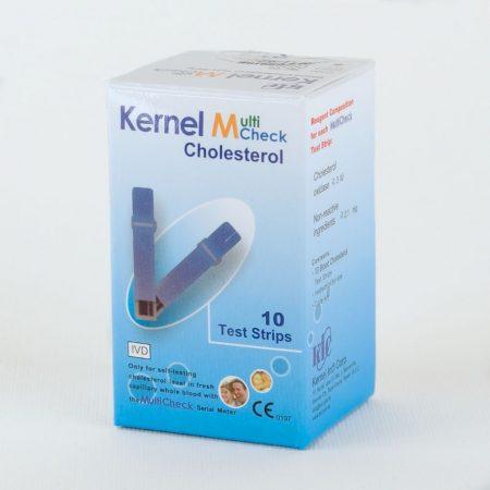 Kernel Multicheck 301 készülékhez koleszterin tesztcsík 10db-os