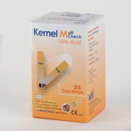 Kernel Multicheck 301 készülékhez hugysavszint tesztcsík 25 db-os